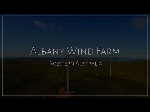 Discover the Albany Wind Farm, Western Australia