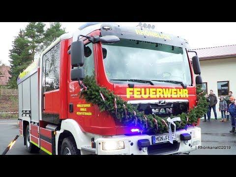 Magirus LF10 - Brandneue Feuerwehr für Rhönblick