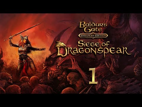Baldur's Gate: Siege Of Dragonspear Part 1 - Tomb Raider