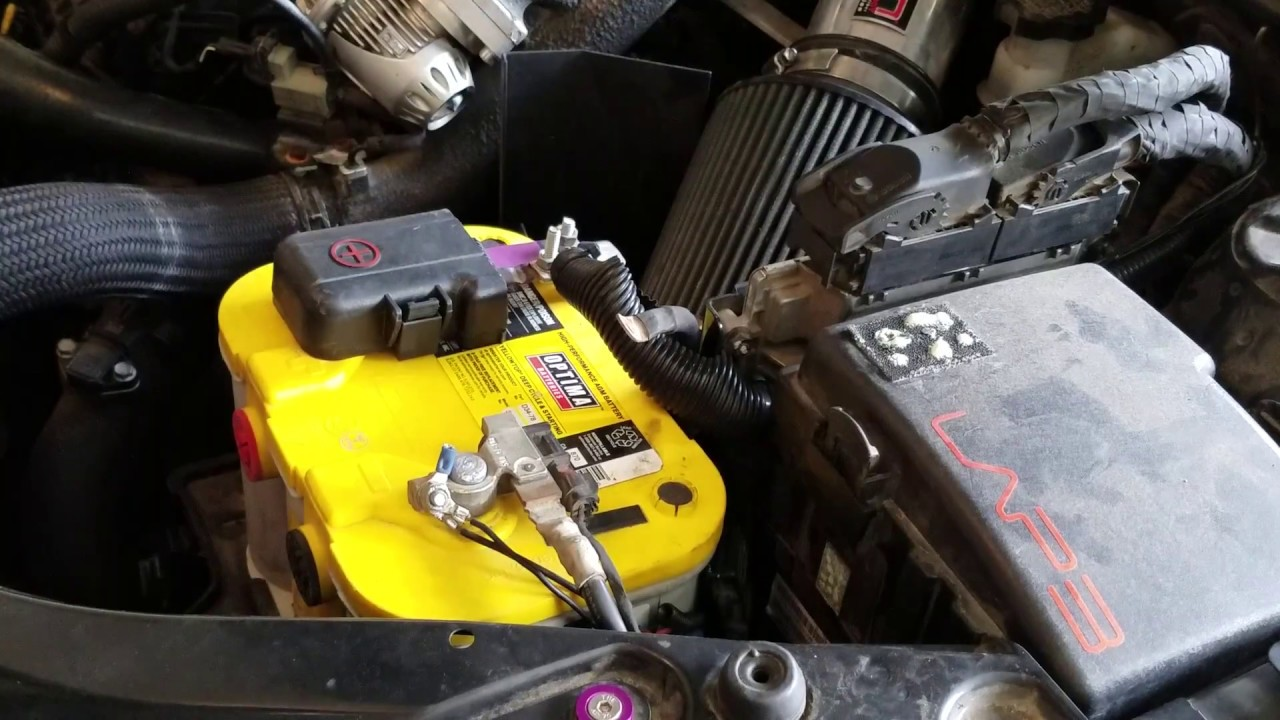 How To Install Aftermaket Battery In 2017 Kia Optima Sx