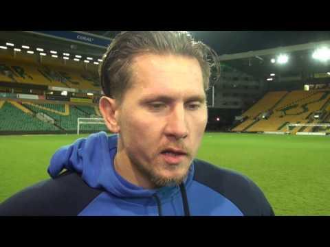 INTERVIEW | Tomasz Kuszczak reacts to Norwich defeat | Norwich City 2-0 Birmingham City
