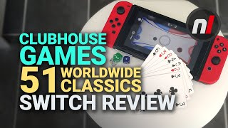 Clubhouse Games: 51 Worldwide Classics Nintendo Switch Review - Is It Worth It?