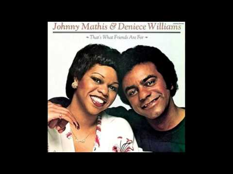 Johnny Mathis & Deniece Williams ‎– That's What Friends Are For. ( HQ ).Full Album.  1978.