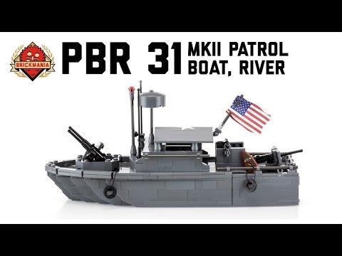 PBR 31, MKII (Patrol Boat River) - Custom Military LEGO