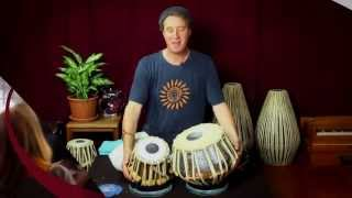 Tabla 101 with Daniel Paul - Tala Rhythm Exercises - in the Bhakti Breakfast Club