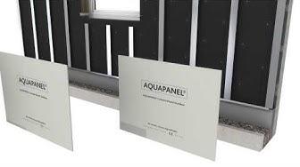 KNAUF Aquapanel hinterlüftete Fassade