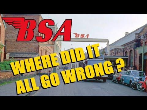 The Decline Of BSA