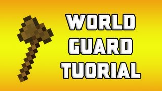 Minecraft: WorldGuard Tutorial - Protect Regions, Disable PvP, and More!
