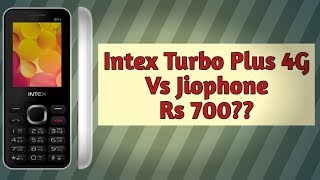 Intex turbo plus 4G | Rs700 4G features 4G volte phone | Jiphone