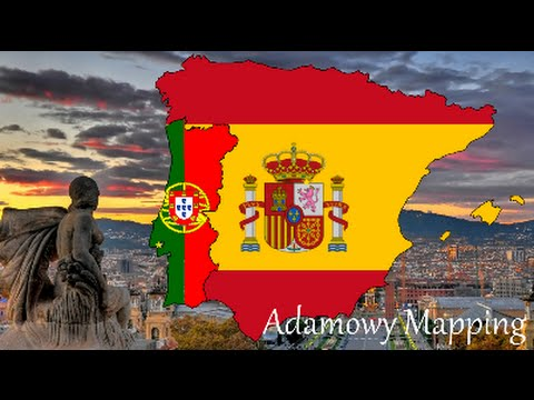 Map Of Europe With Flags 1 Spain Portugal Youtube