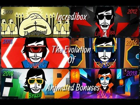 Incredibox - The Evolution Of Animated Bonuses (V1 Up to V6)