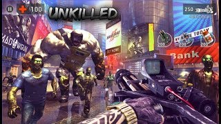 Unkilled - The Best Zombie Killing Games - Multiplayer Android Gameplay - Walkthrough 18,19 Levels