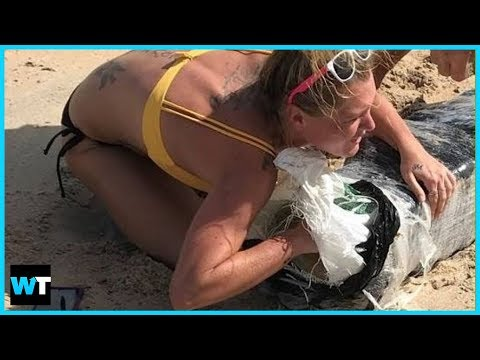 100 Pounds of WEED Found On Beaches in Florida After Hurricane Florence?!