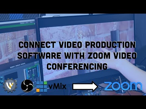How To Connect Zoom To VMix (also Works For OBS)