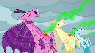 Star Swirl & The Pillars defeat the Sirens, Stygian turns evil