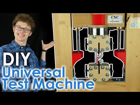 Fully OPEN SOURCE Universal Test Machine!
