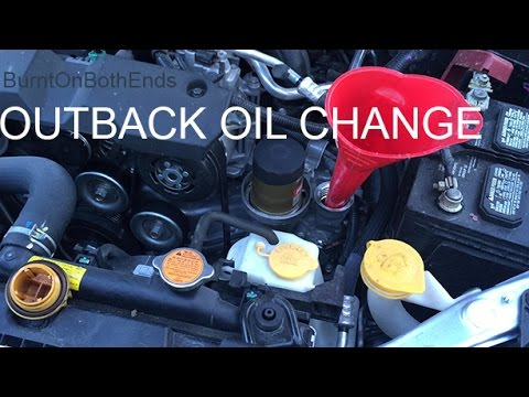 Oil For Subaru Outback >> Outback Oil Change