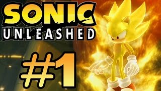 Sonic Unleashed (360) - Part 1 - Windmill Isle Day