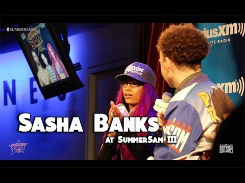 Sasha Banks - Stalkers, Title Reigns, Ronda Rousey, etc- SummerSam III w/ Sam Roberts