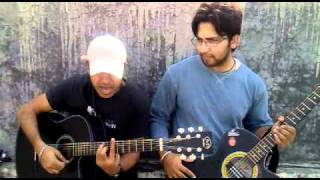Sayonee on guitar by Mazhar