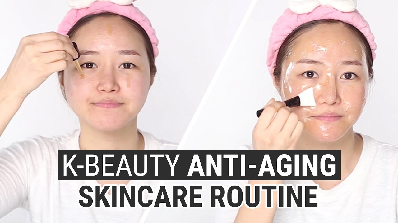 Anti Aging Maske Korean Skin Care Routine For Anti Aging | I'm From Ginseng