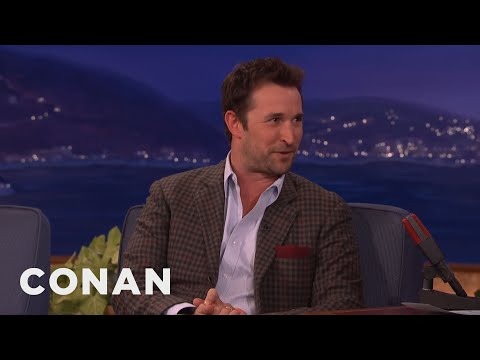Noah Wyle: They Call Me The White Cosby   CONAN on TBS