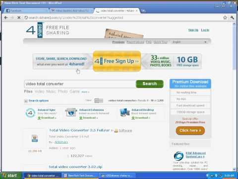 How to Download File from 4sharedcom without having PERMIUM account