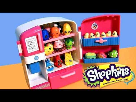 SHOPKINS FRIDGE So Cool Refrigerator & Freezer Season2 NEW 2015 by DisneyCollector