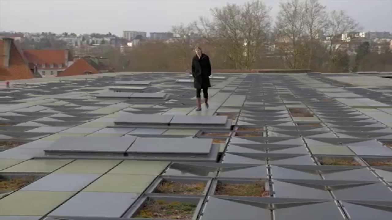 La toiture de la cit des arts youtube - Besancon cite des arts ...