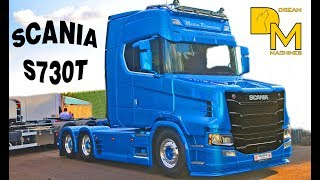 SCANIA S730T NEXT GENERATION TORPEDO TRUCK NEW KING OF THE ROAD