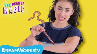 Tapeworm Removal Trick | JUNK DRAWER MAGIC