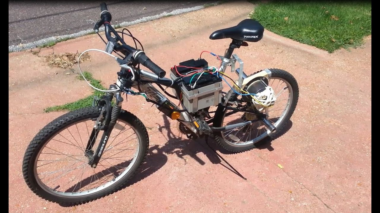DIY Electric Bike - YouTube