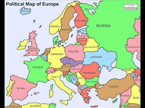 Europe In Future YouTube - Germany map cartoon