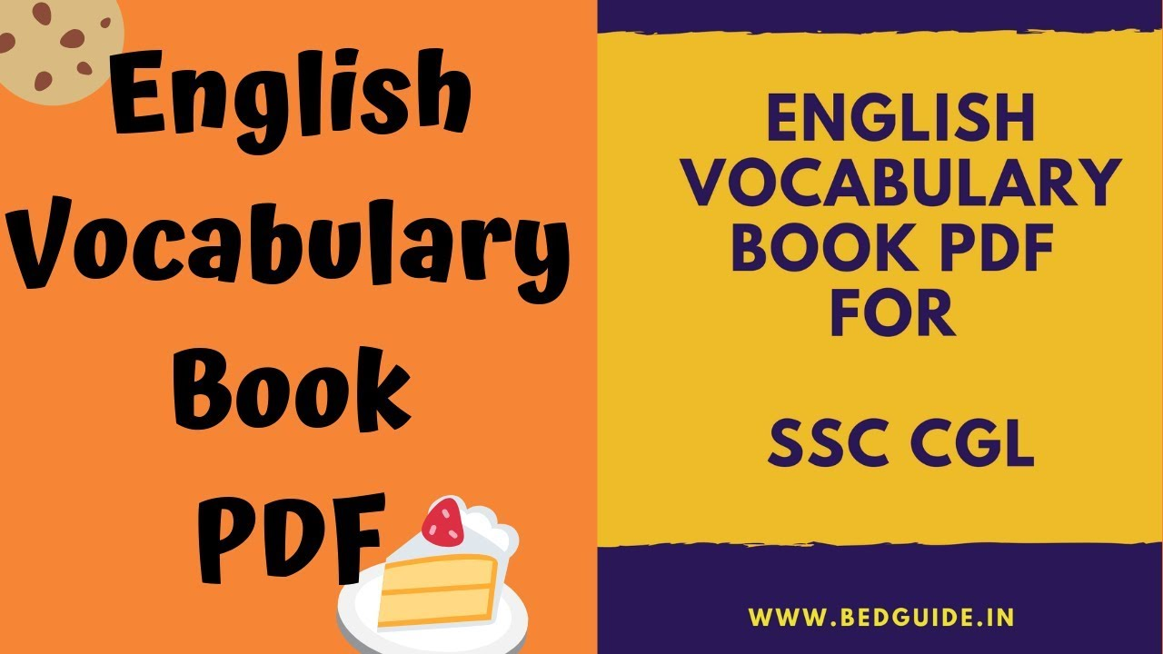 The Best English Vocabulary Book For SSC CGL PDF Free Download