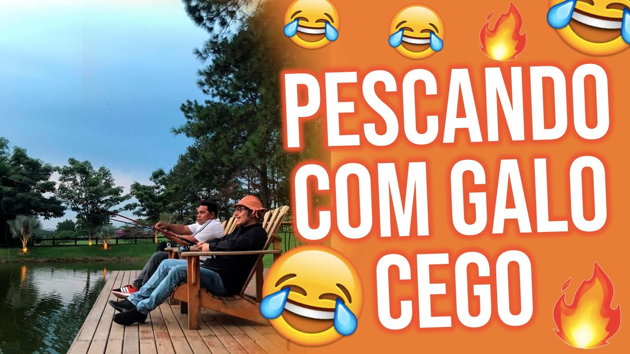 LIVE - PESCANDO COM GALO CEGO