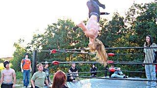 Back Yard Wrestling Tribute - Castle on the Hill