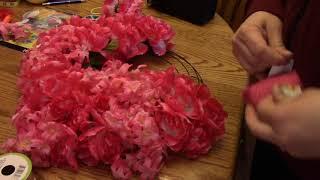 DIY dollar tree spring easter wreath ideas 2018