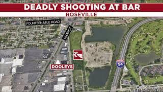 Man arrested in deadly shooting at Roseville bar