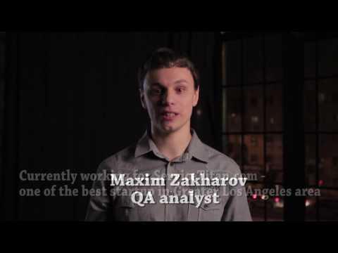 Maxim Zakharov - QA Analyst