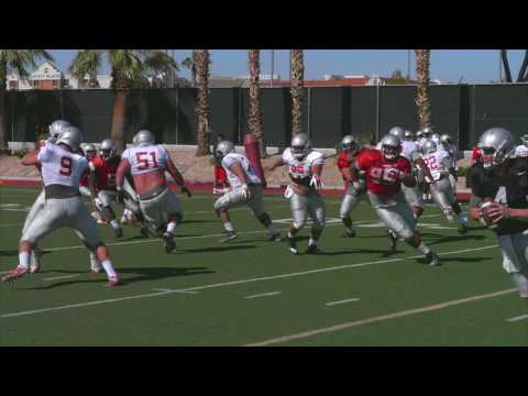 UNLV Football Camp Rebel: Practice 5