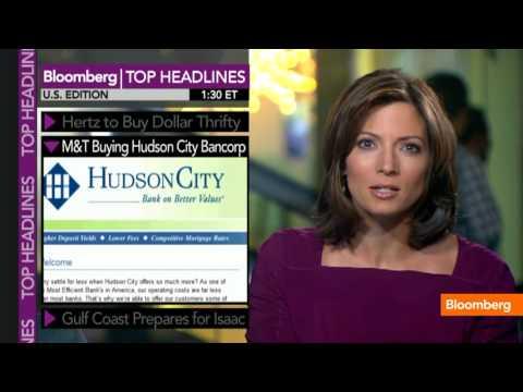 Hertz to Buy Dollar Thrifty, M&T Buying Hudson City