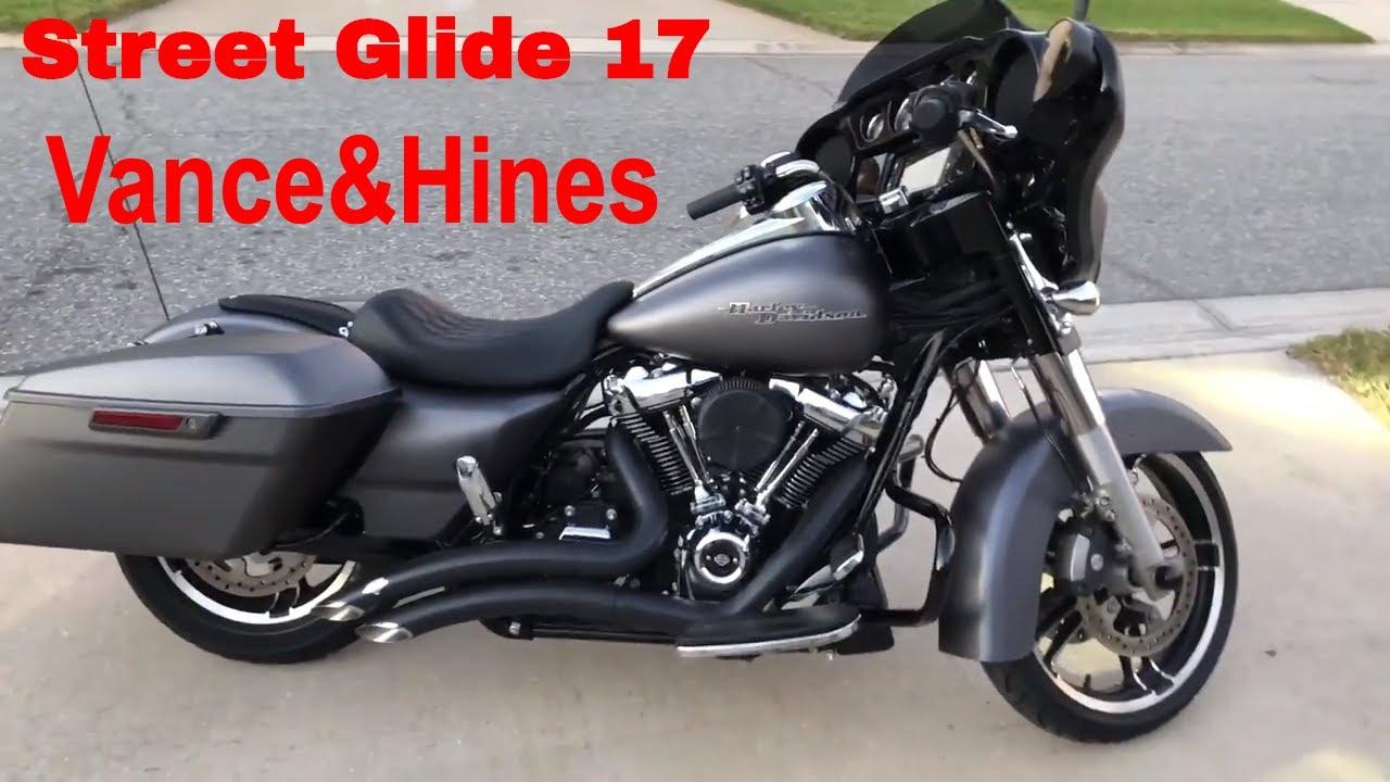 Vance & Hines Big Radius 2 into 2 Black, Street Glide Special 2017