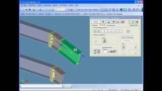 FramesLink für CoCreate Modeling - Anwenderdefinierte Bibliotheksteile im Stahlbau.mp4