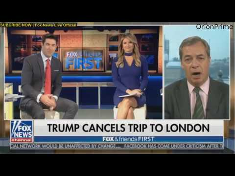 Nigel Farage: Switzerland is making the right move. Trump cancels UK visit - January 12th 2018