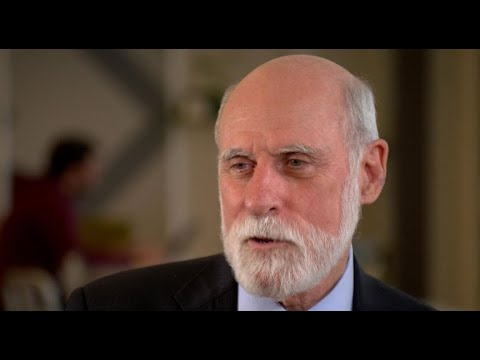 """Vint Cerf on the prospect of a """"digital dark age"""""""