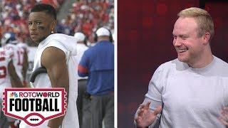 Fantasy Football Week 4 starts/sits, Injury update, TNF | Rotoworld Football Podcast | NBC Sports