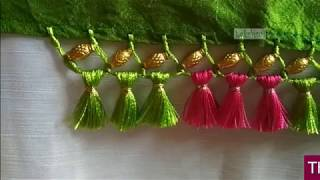 Saree Kuchu/tassel with beads-New design