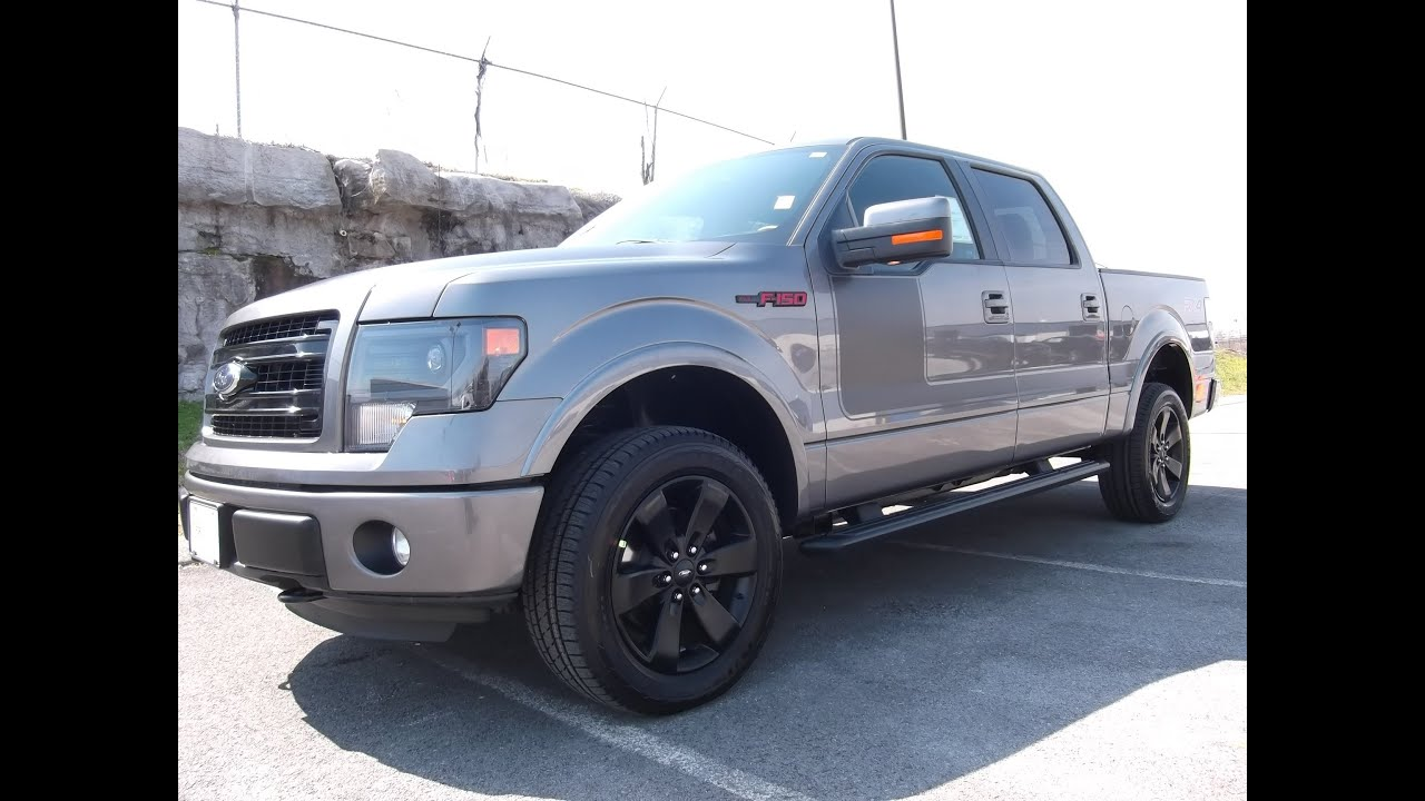 Ford Of Murfreesboro >> 2013 FORD F-150 SUPERCREW FX4 APPEARANCE PACKAGE 5.0 ...