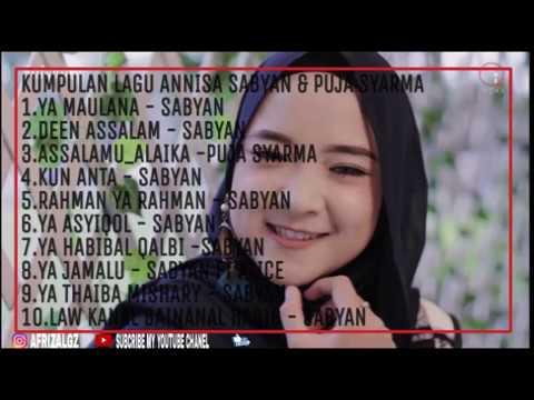 Sholawat Top Trending YouTube Nissa Sabyan 2019