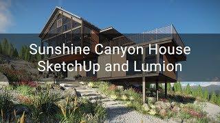 Video Sunshine Canyon House - SketchUp, Lumion download MP3, 3GP, MP4, WEBM, AVI, FLV Desember 2017